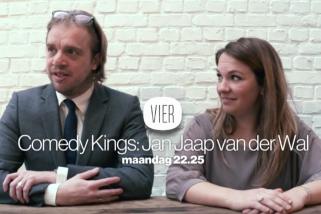Jan Jaap Van der Wal op Vier